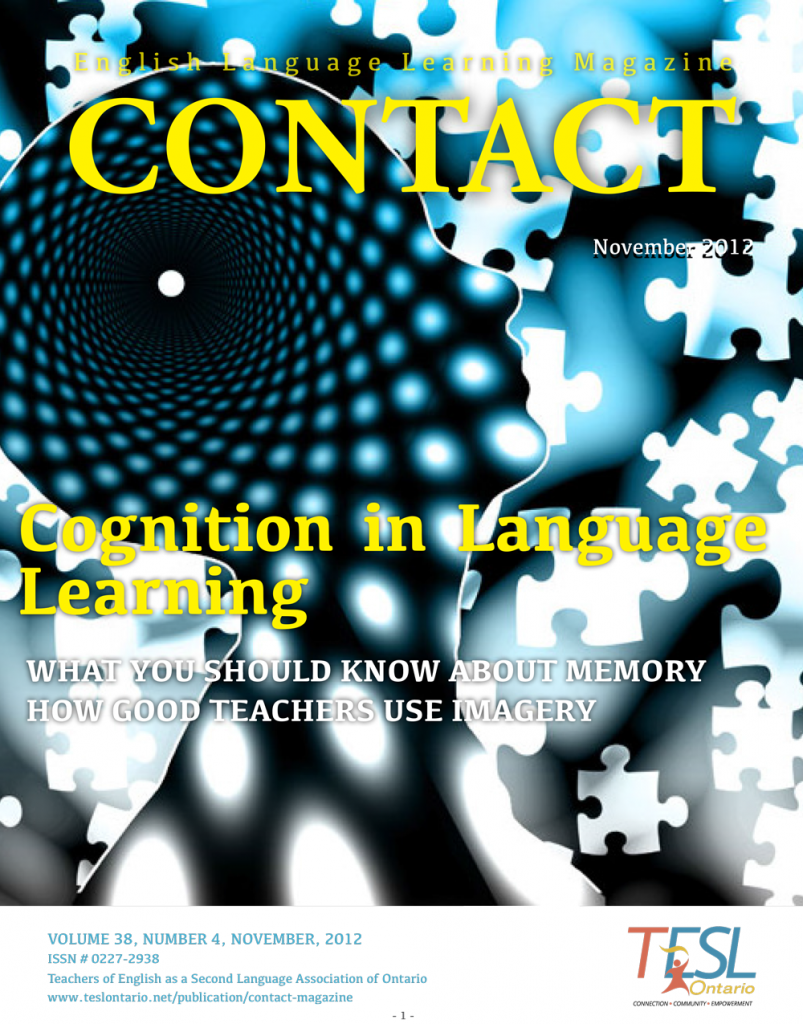 cognition in language learning