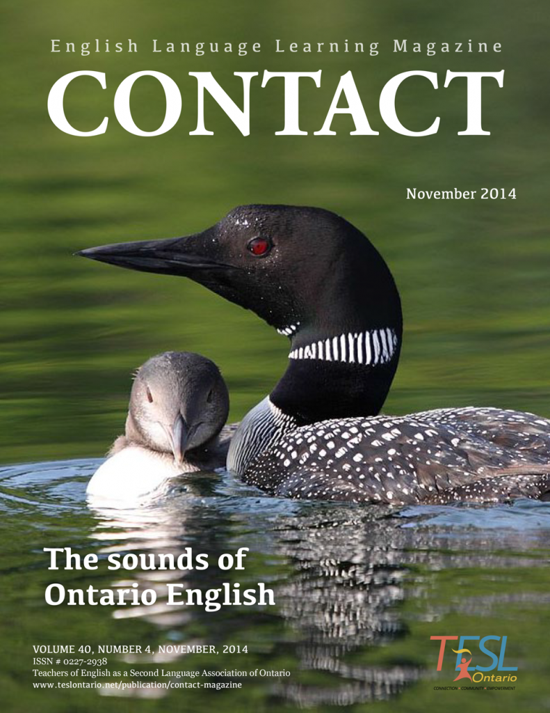 Contact Fall 2015 Issue Cover