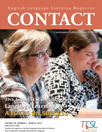 Contact Spring 2012 Issue Cover
