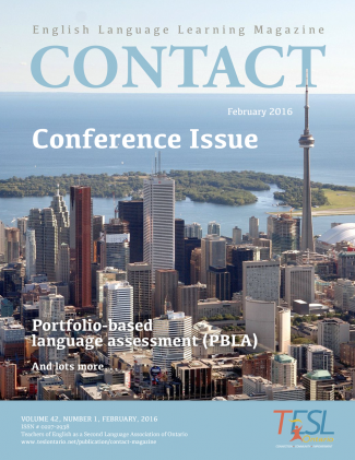 Contact Spring 2016 Issue Cover