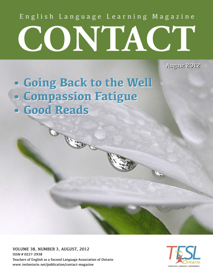 Contact Summer 2012 Issue Cover