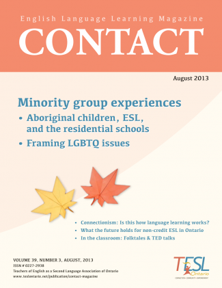 Contact Summer 2013 Issue Cover