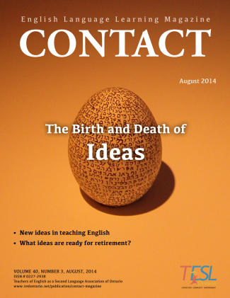 Contact Summer 2014 Issue Cover