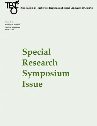 Research Symposium 2001